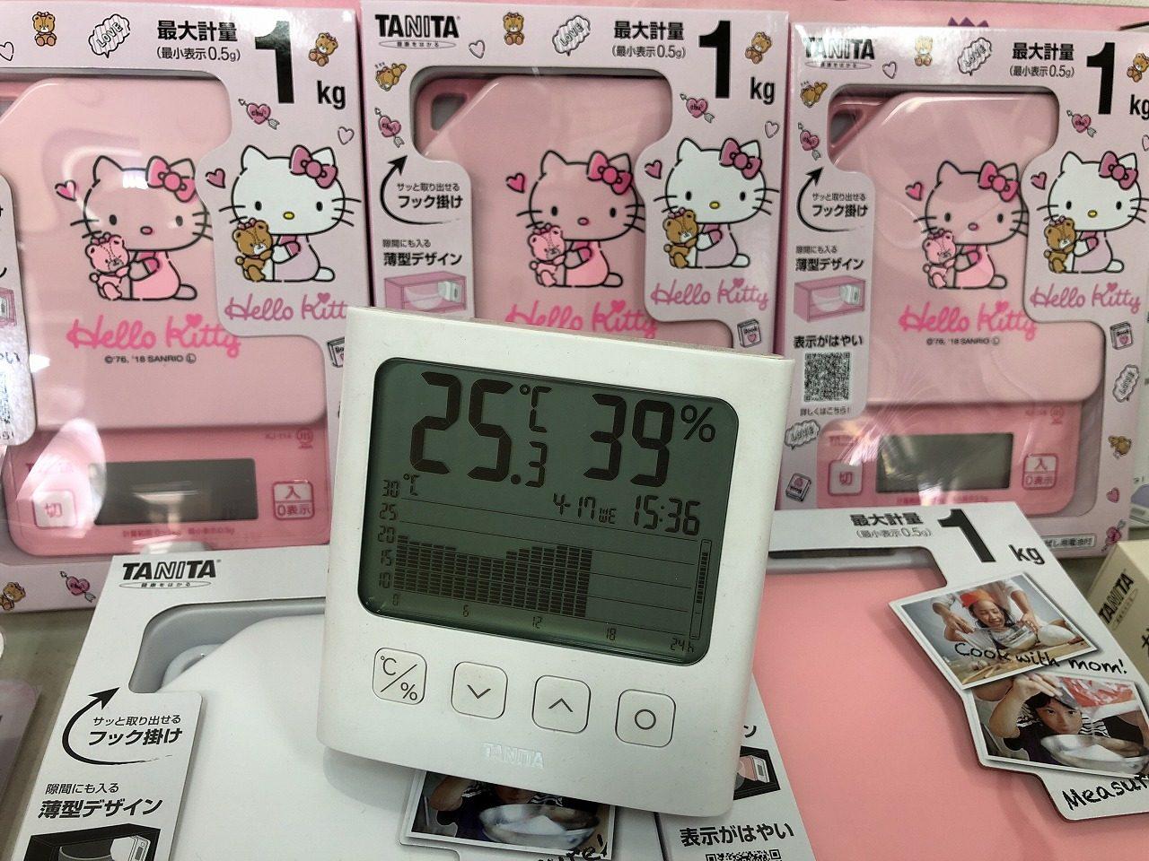 TT-581 グラフ付き温湿度計