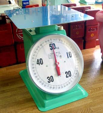 上皿自動秤 O型 50kg