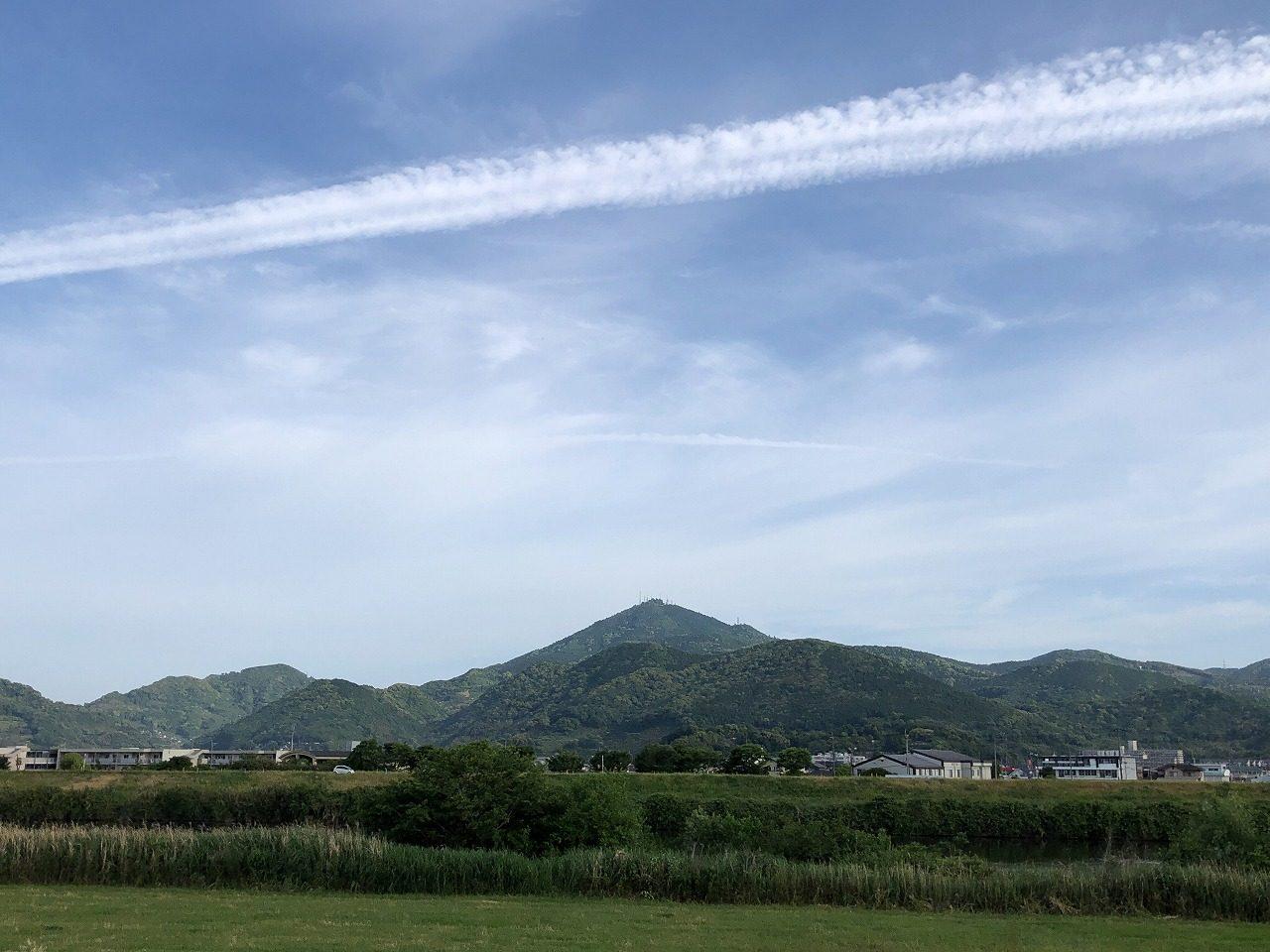 2019.5.17今朝の金峰山です。