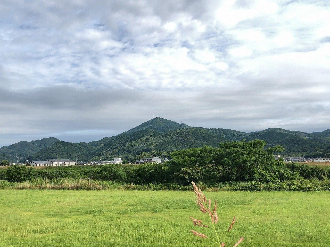 2019.6.3 今朝の金峰山です。