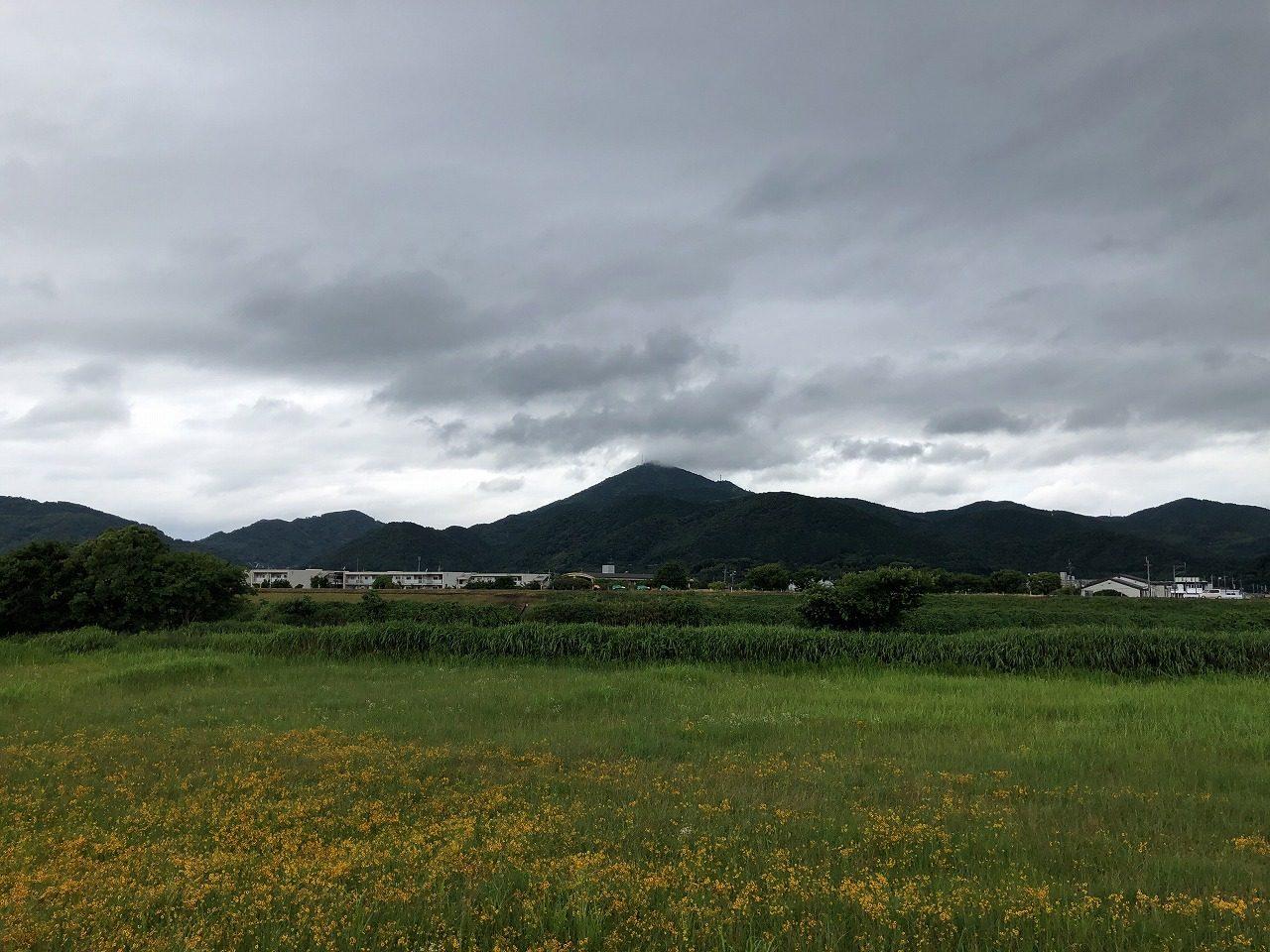 2019年6月27日今朝の金峰山です。