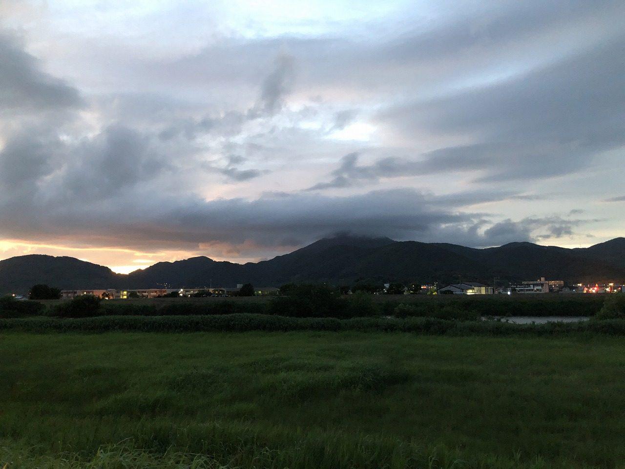 2019.6.27夜の金峰山です!