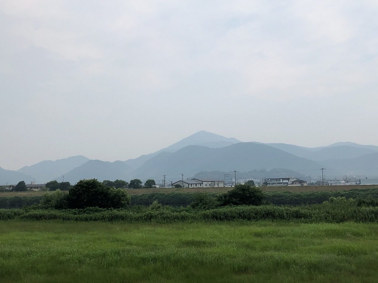 2019.7.5今朝の金峰山です。