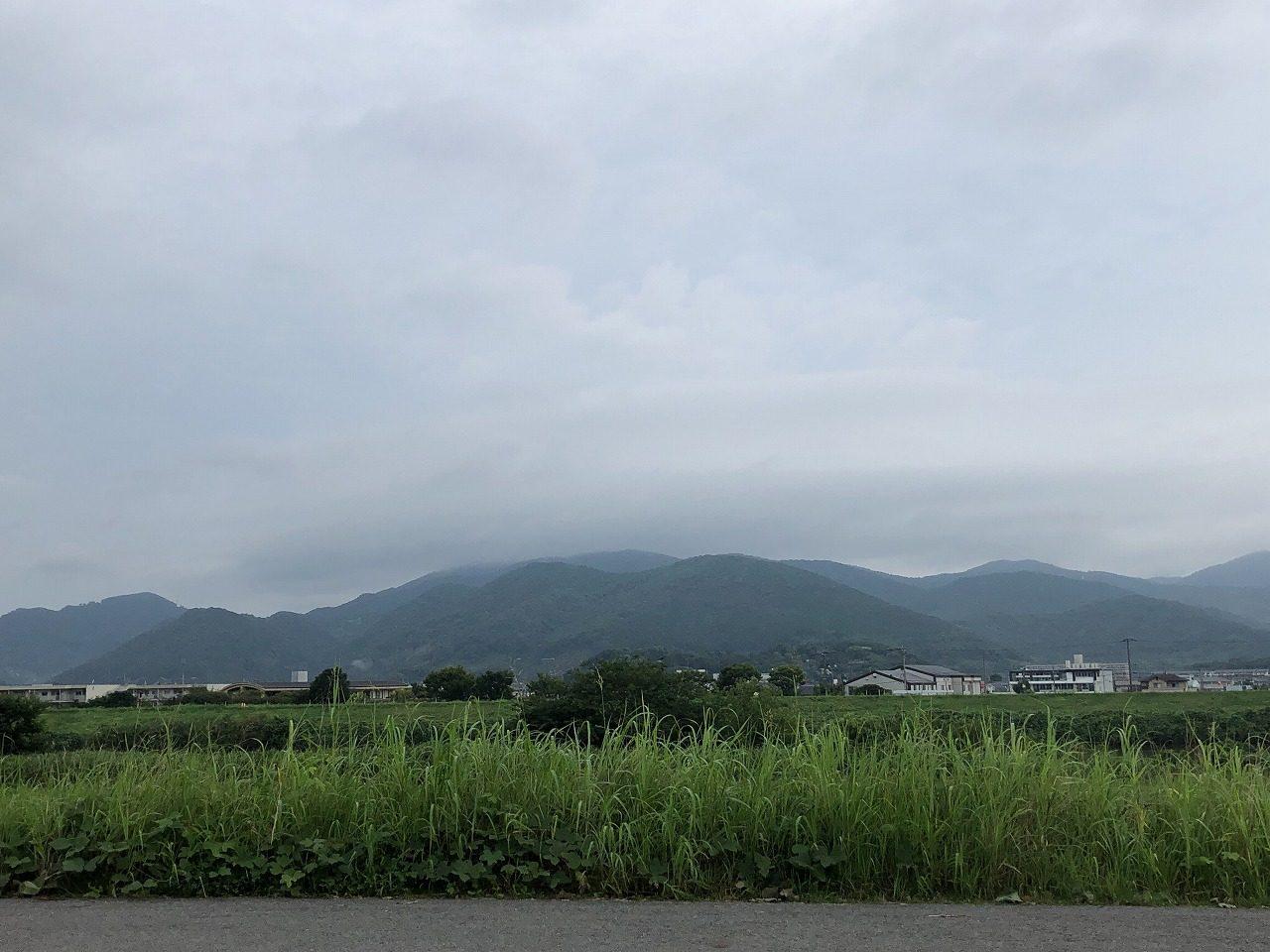 2019.7.23今朝の金峰山です。