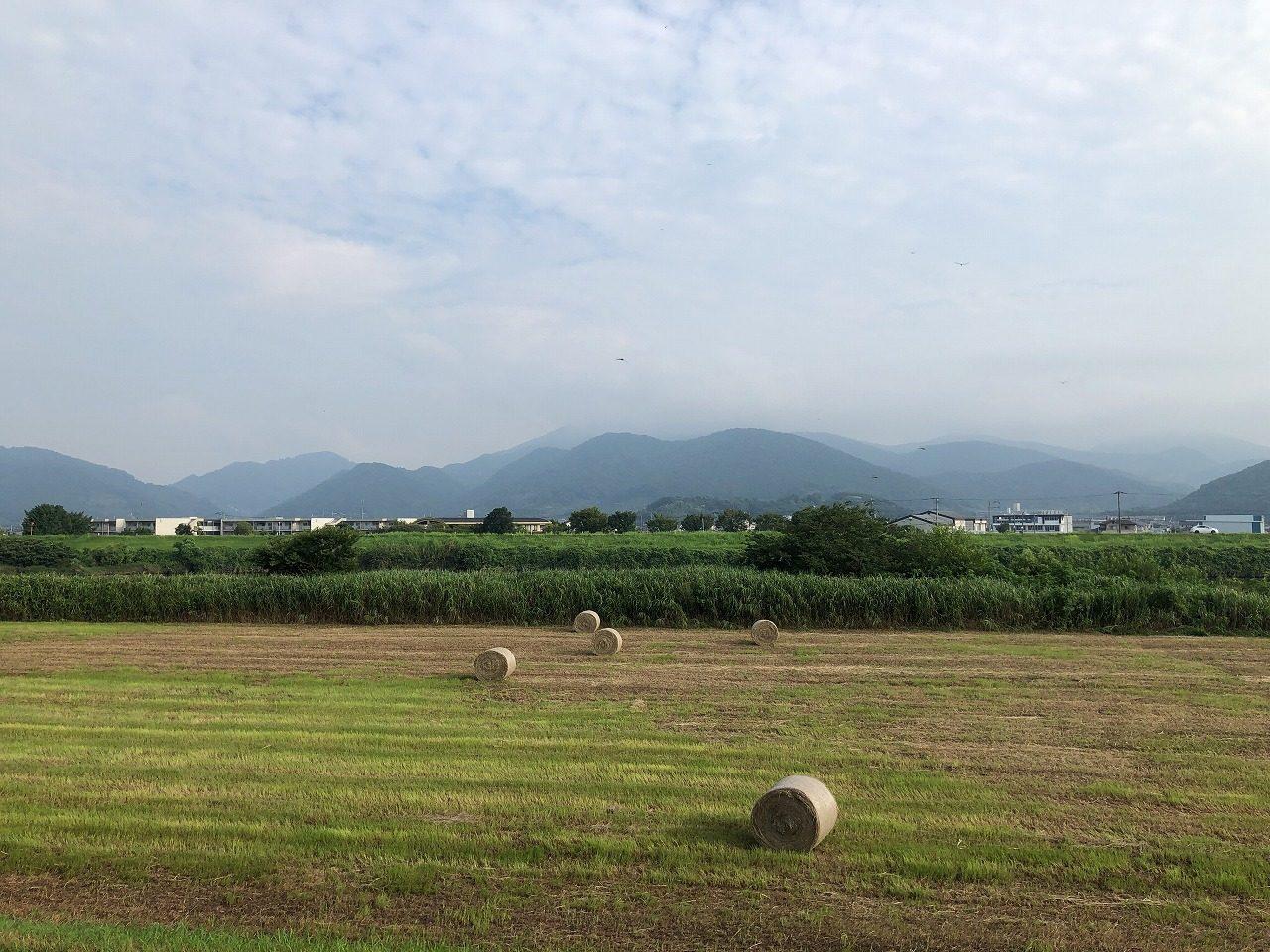 2019.8.2 今朝の金峰山です。