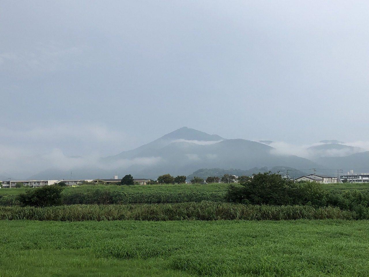 2019.9.2今朝の金峰山です。