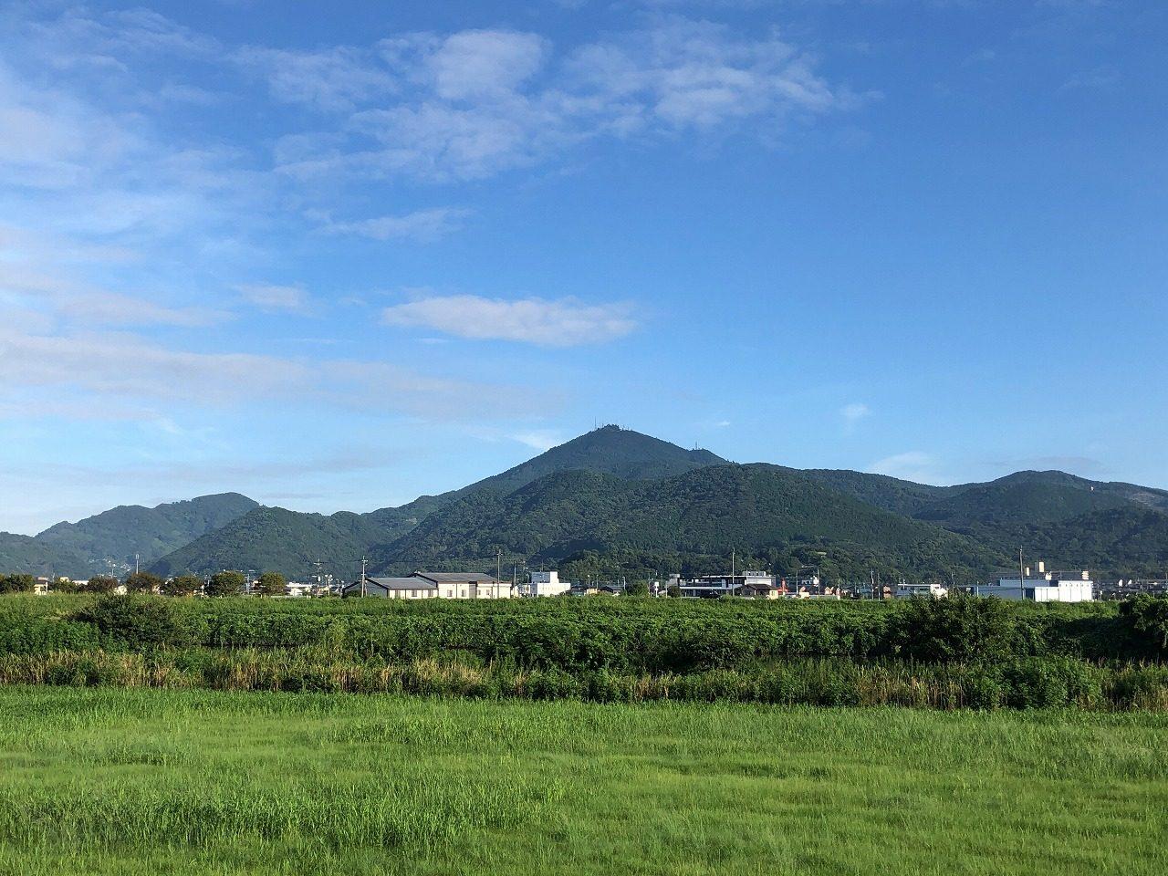 2019.9.3今朝の金峰山(熊本)です。