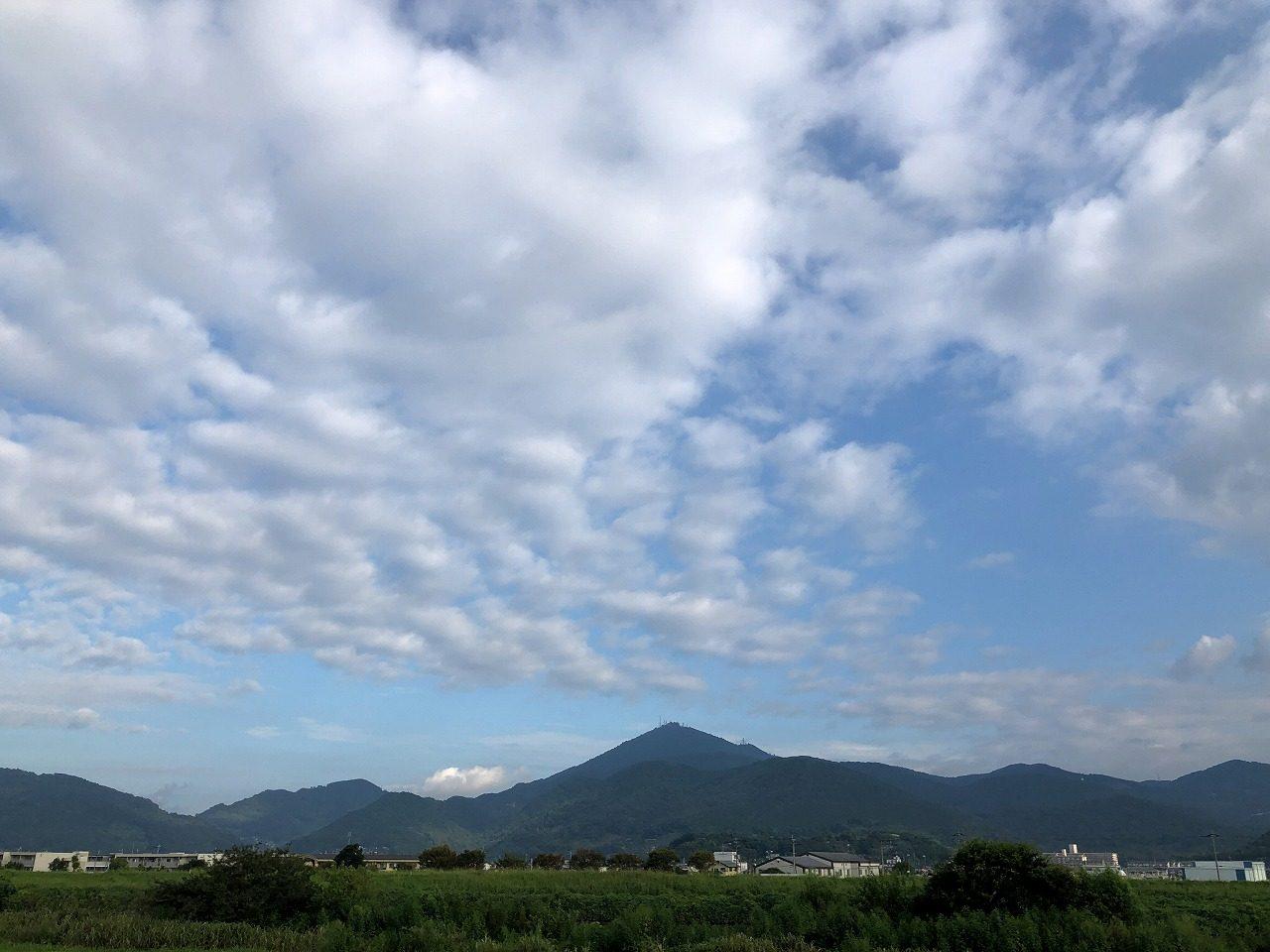 2019.9.11今朝の金峰山です。
