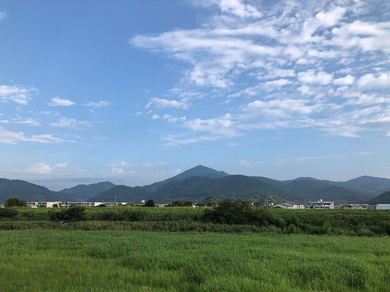 219.9.13今朝の金峰山です。