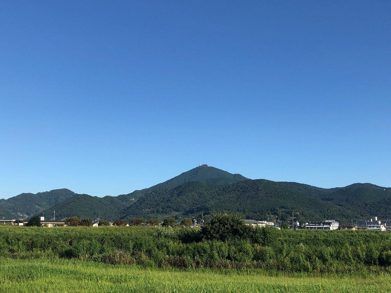 2019.9.17今朝の金峰山です。