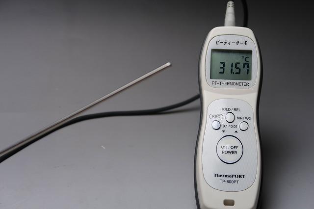 (株)サーモポート デジタル標準温度計 TP-800PT・Pre ピーティーサーモプレミアム