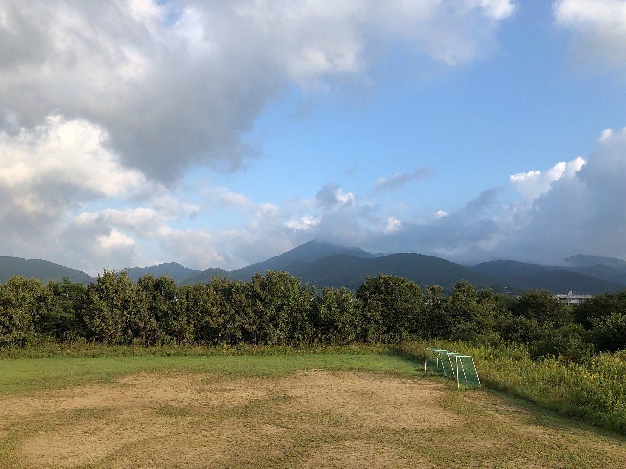 2019.10.4今朝の金峰山です。