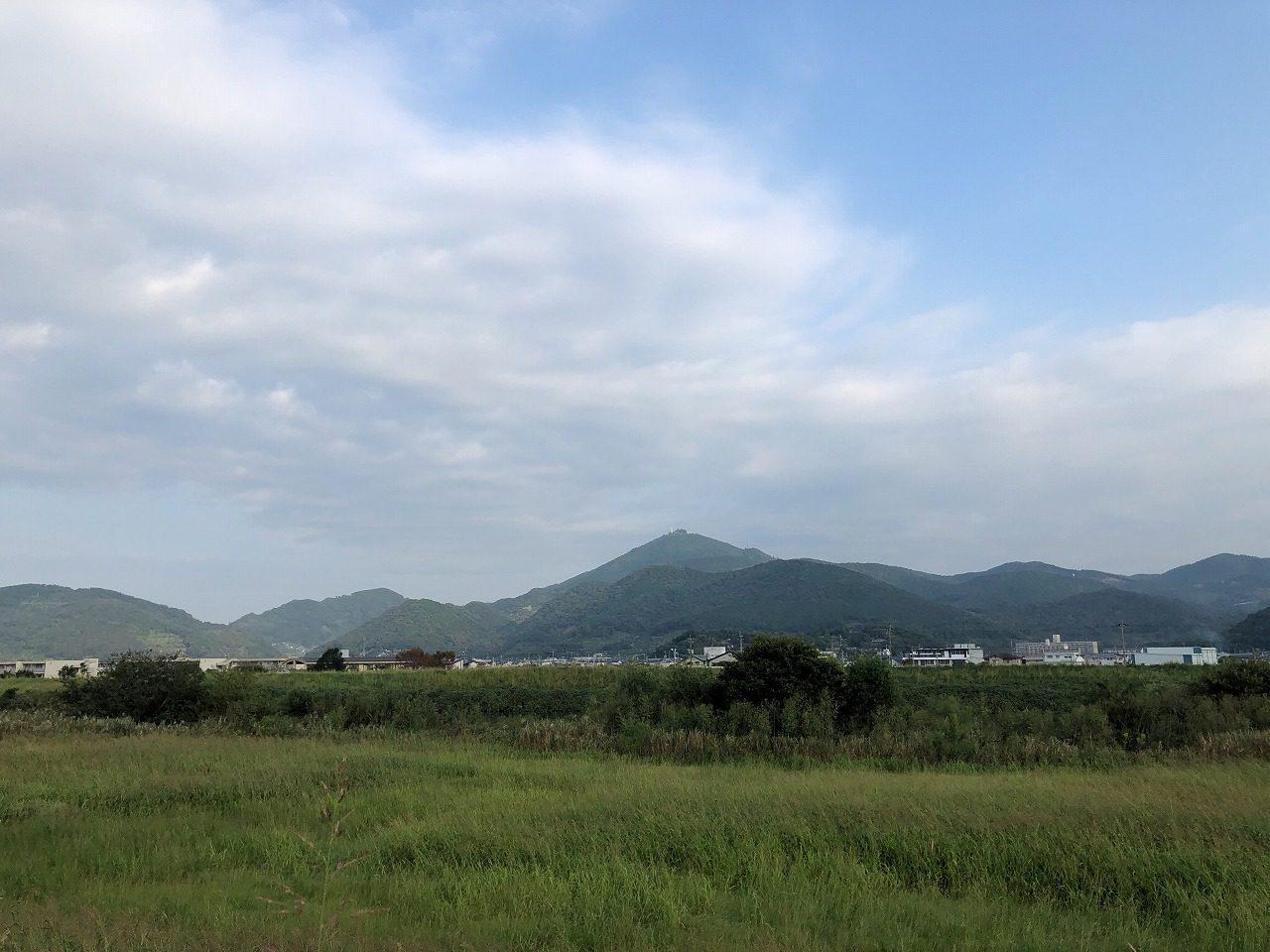 2019.10.7今朝の金峰山です!