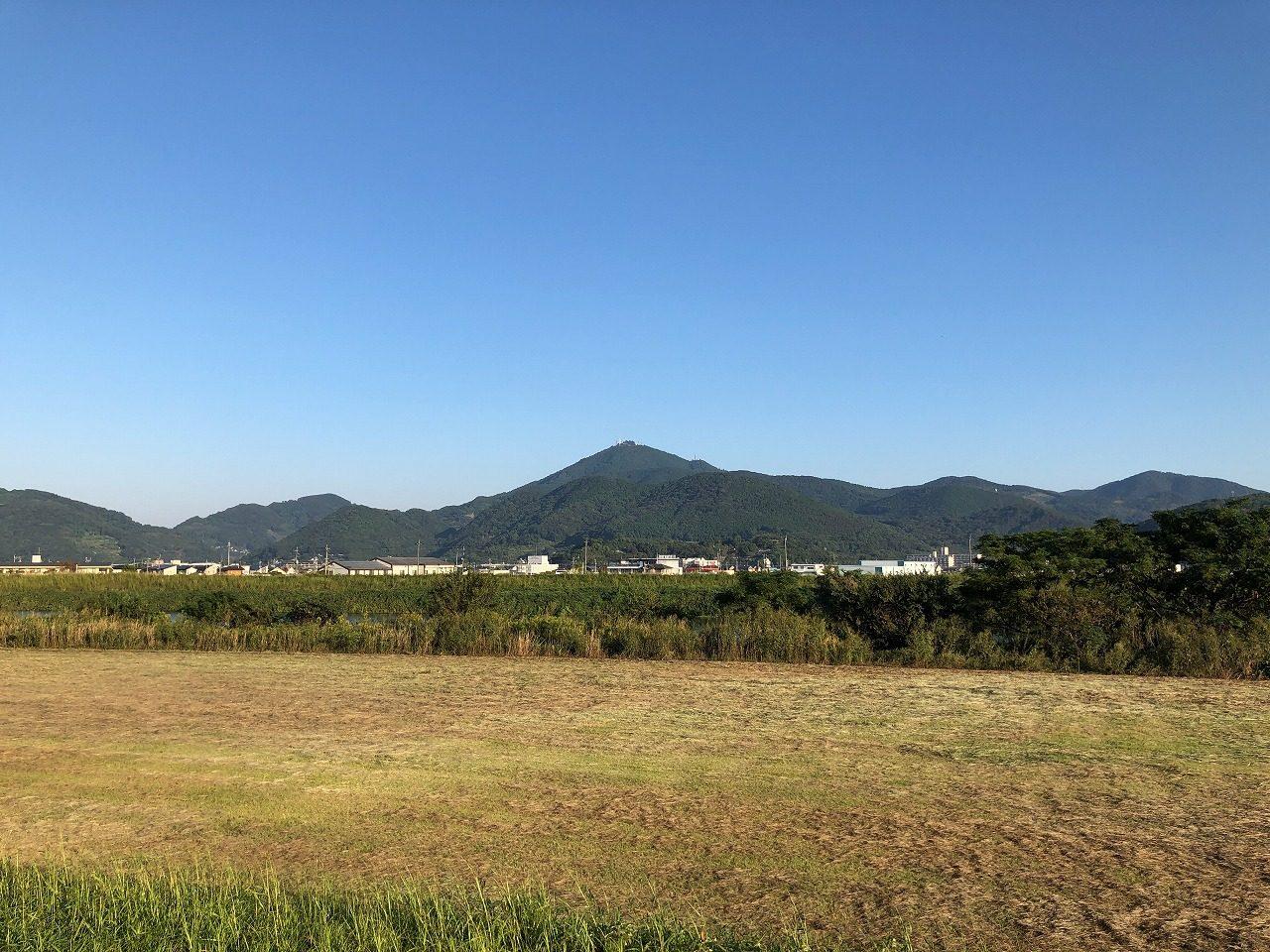 2019.10.10今朝の金峰山です!