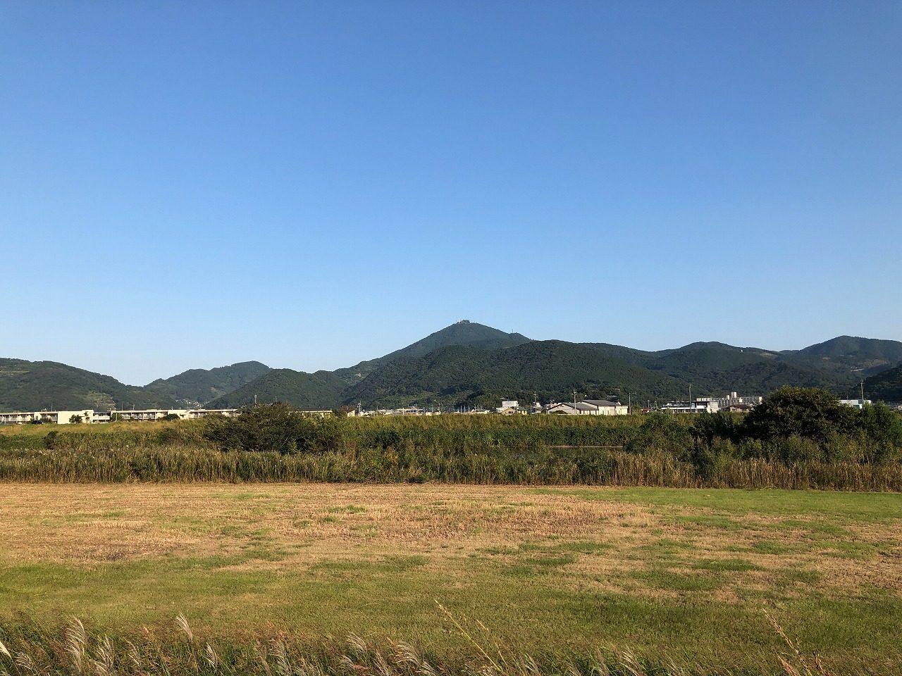 2019.10.16今朝の金峰山です。