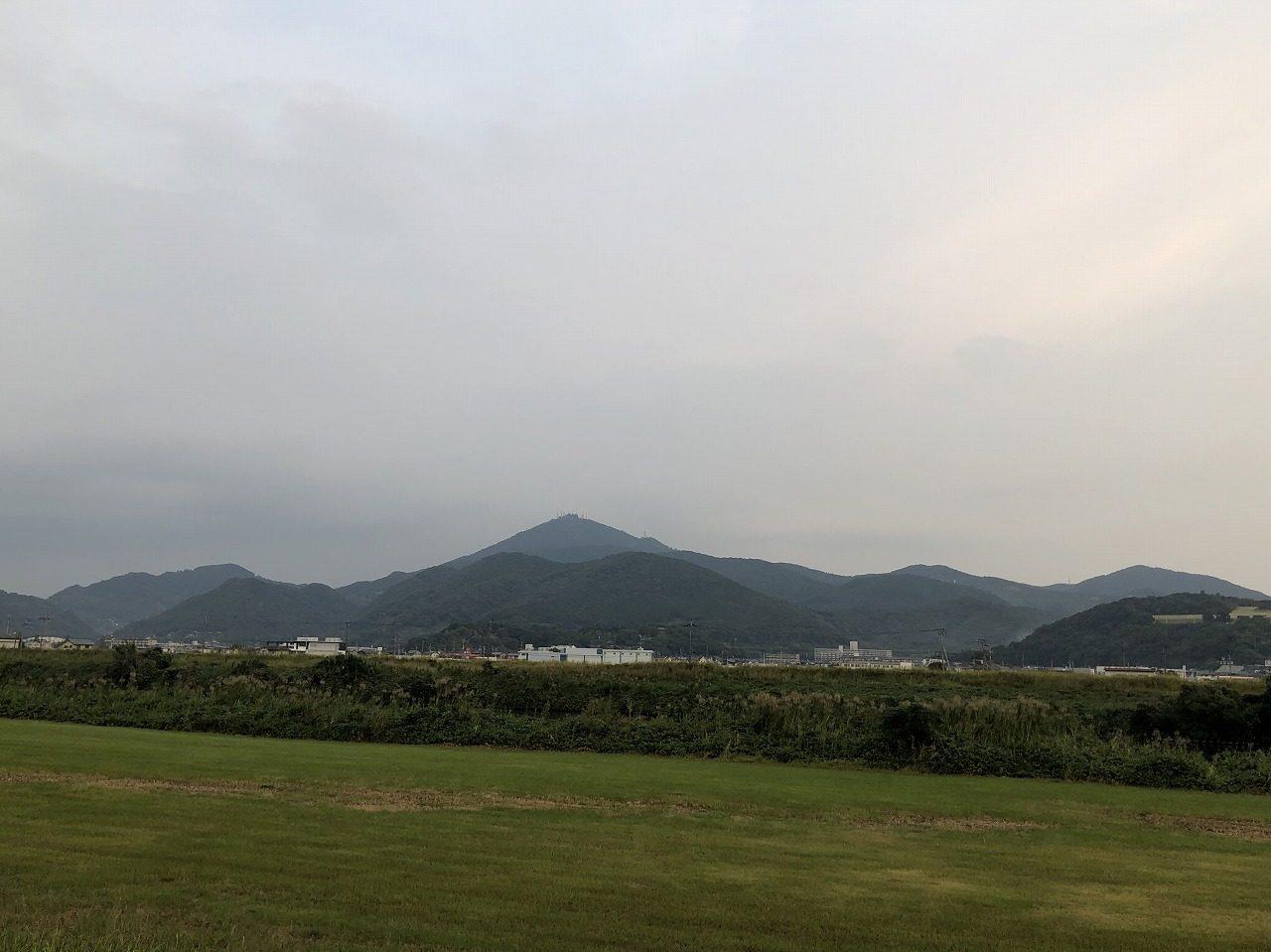 2019.10.23今朝の金峰山です。