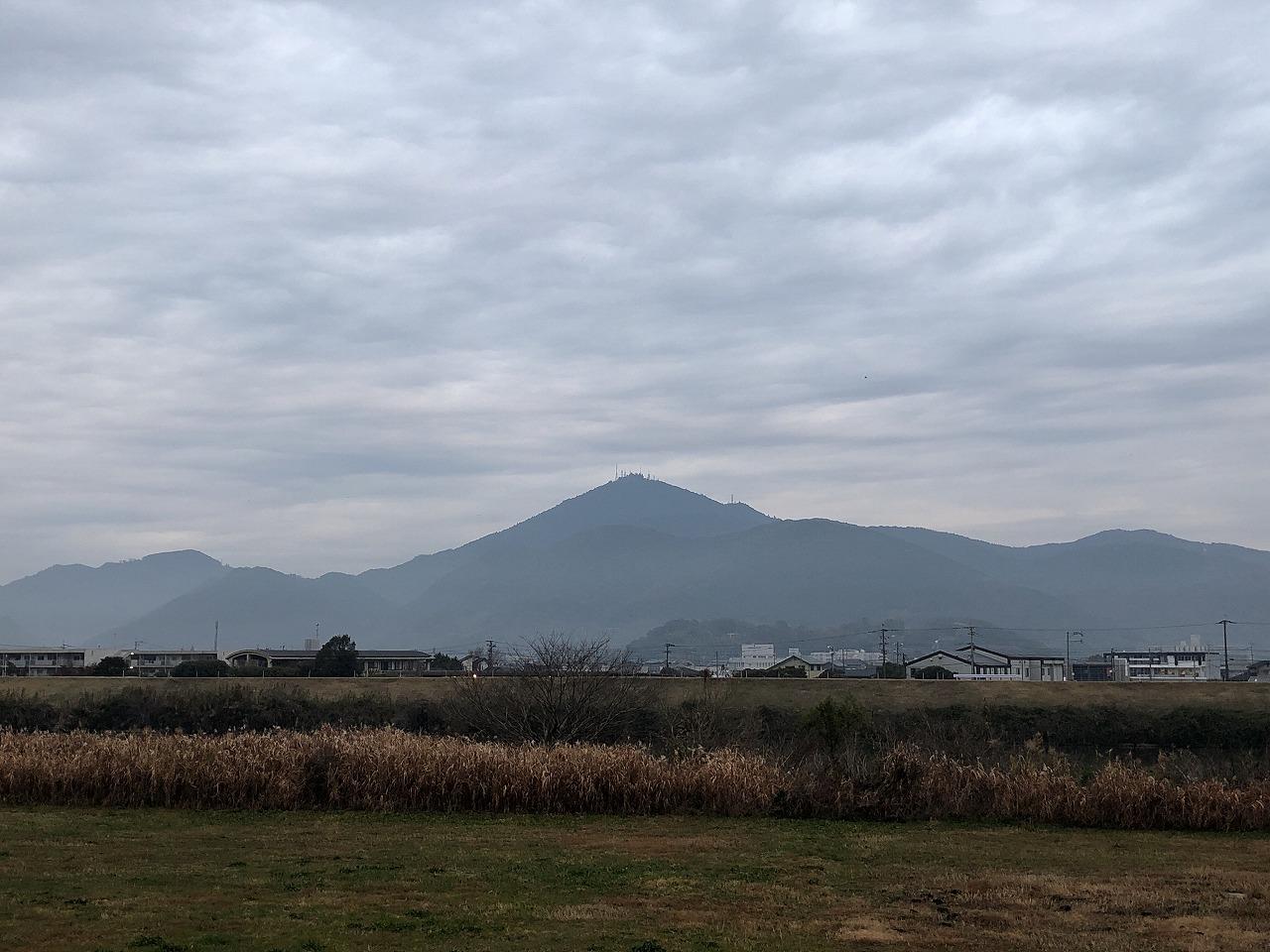 2019.12.25今朝の金峰山です!