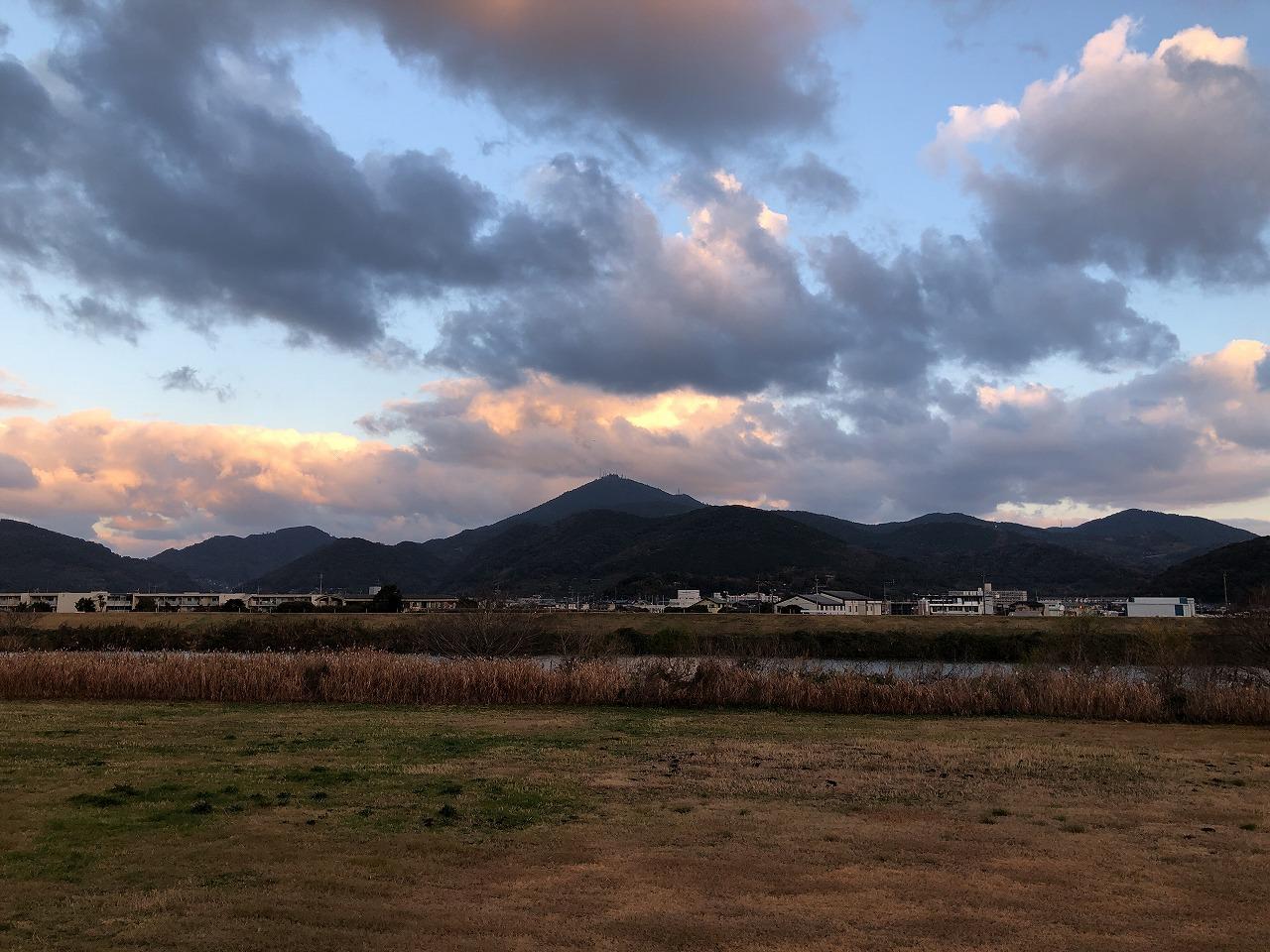 2019.12.27今朝の金峰山です。