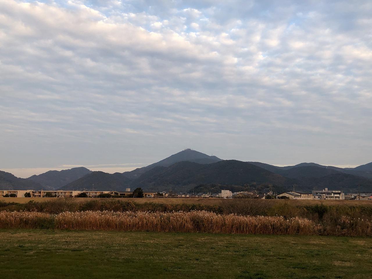 2019.12.5今朝の金峰山です。