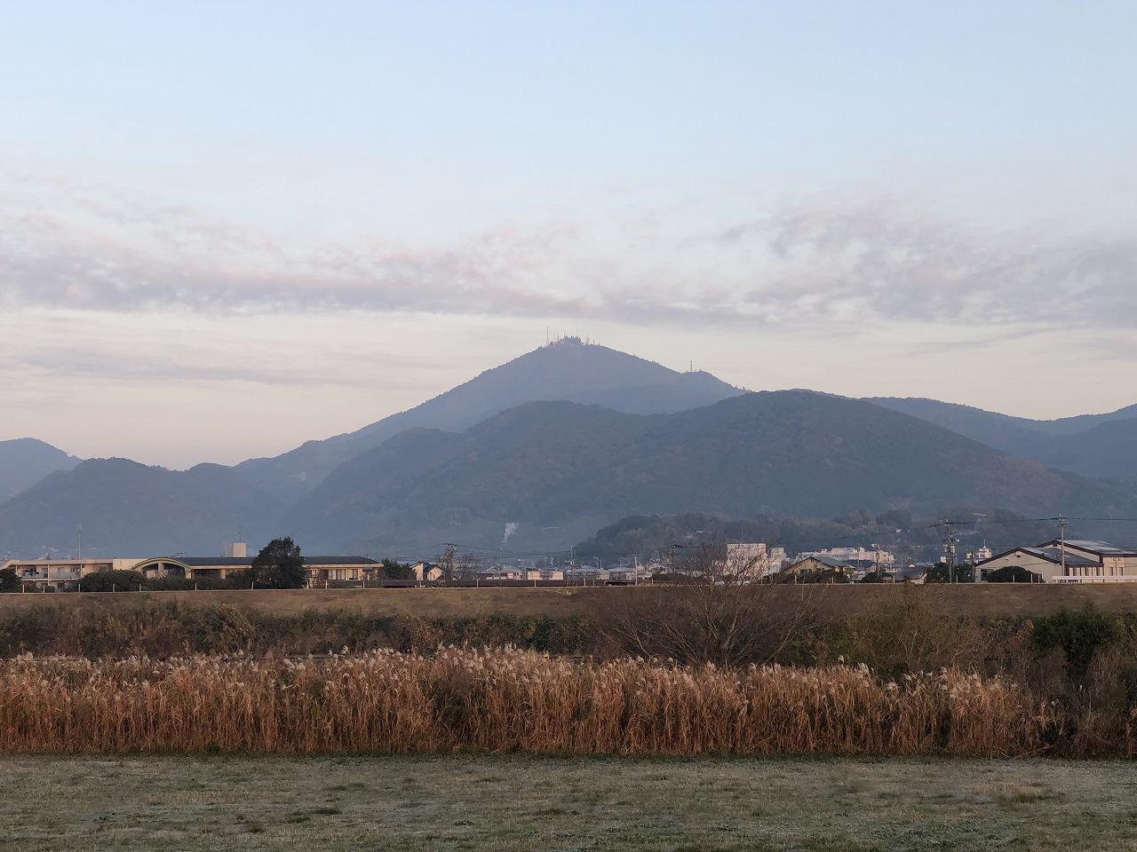 2019.12.9今朝の金峰山です。
