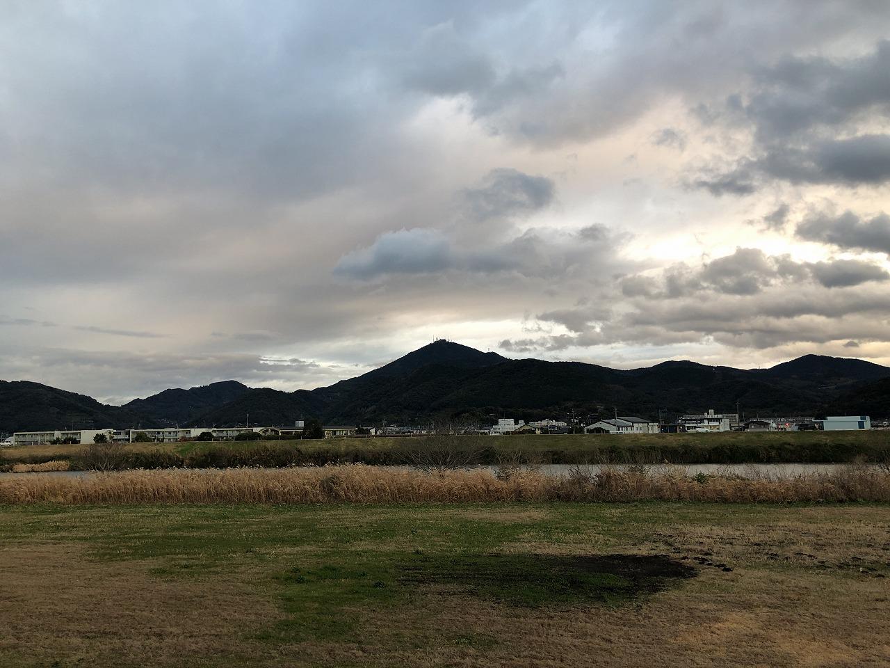 2020.1.27今朝の金峰山です。