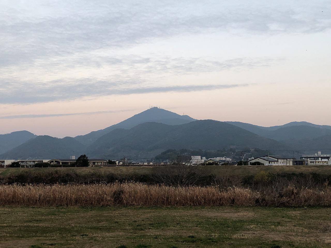 2020.1.10今朝の金峰山です。