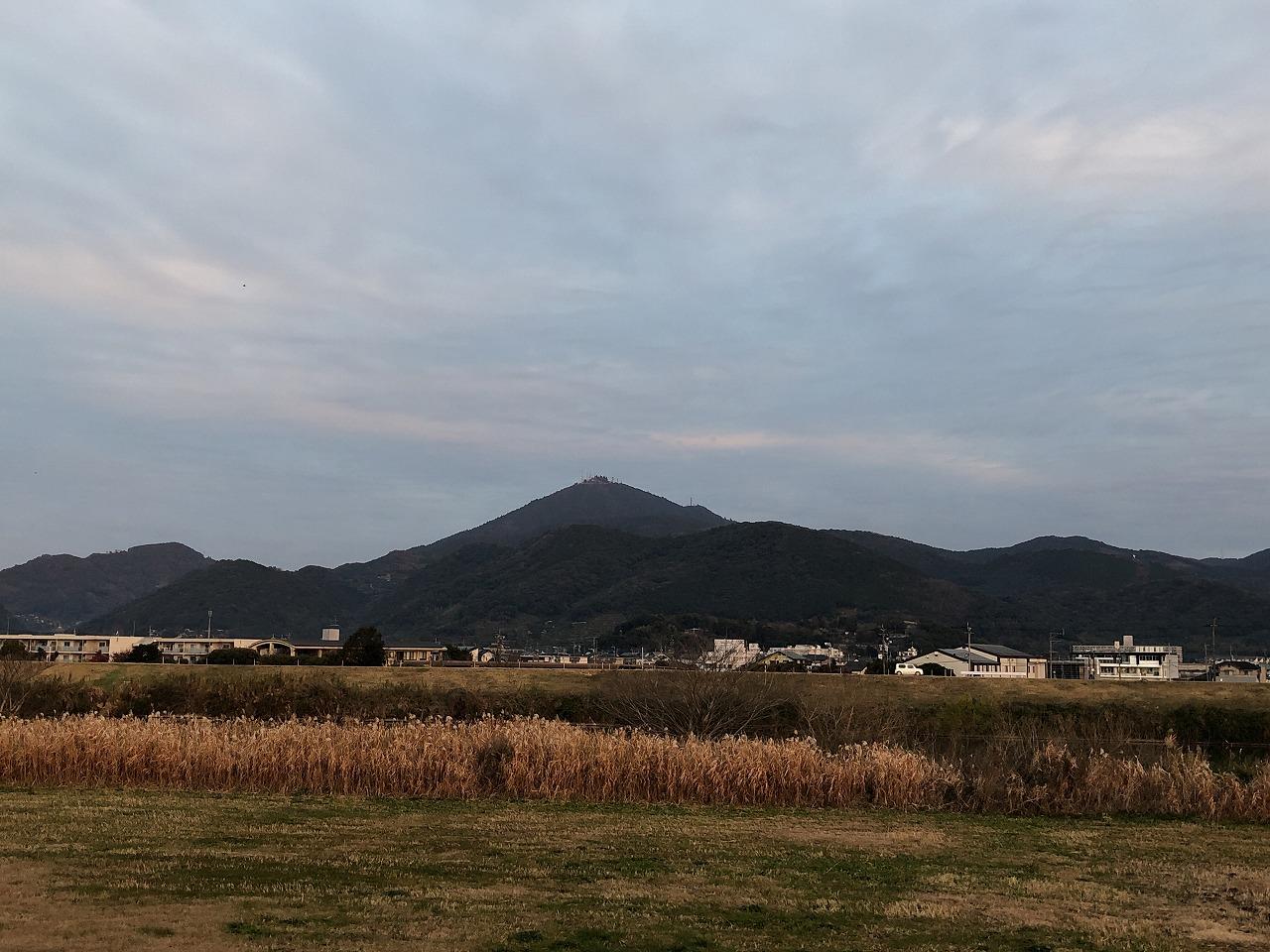 2020年1月6日 今朝の金峰山です。