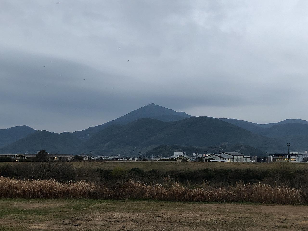 2020.1.7今朝の金峰山です!