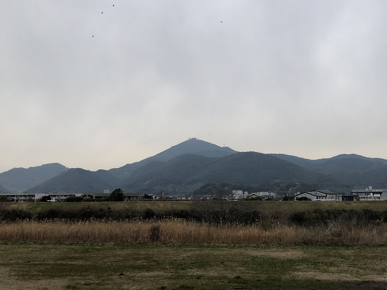 2020.2.7今朝の金峰山です