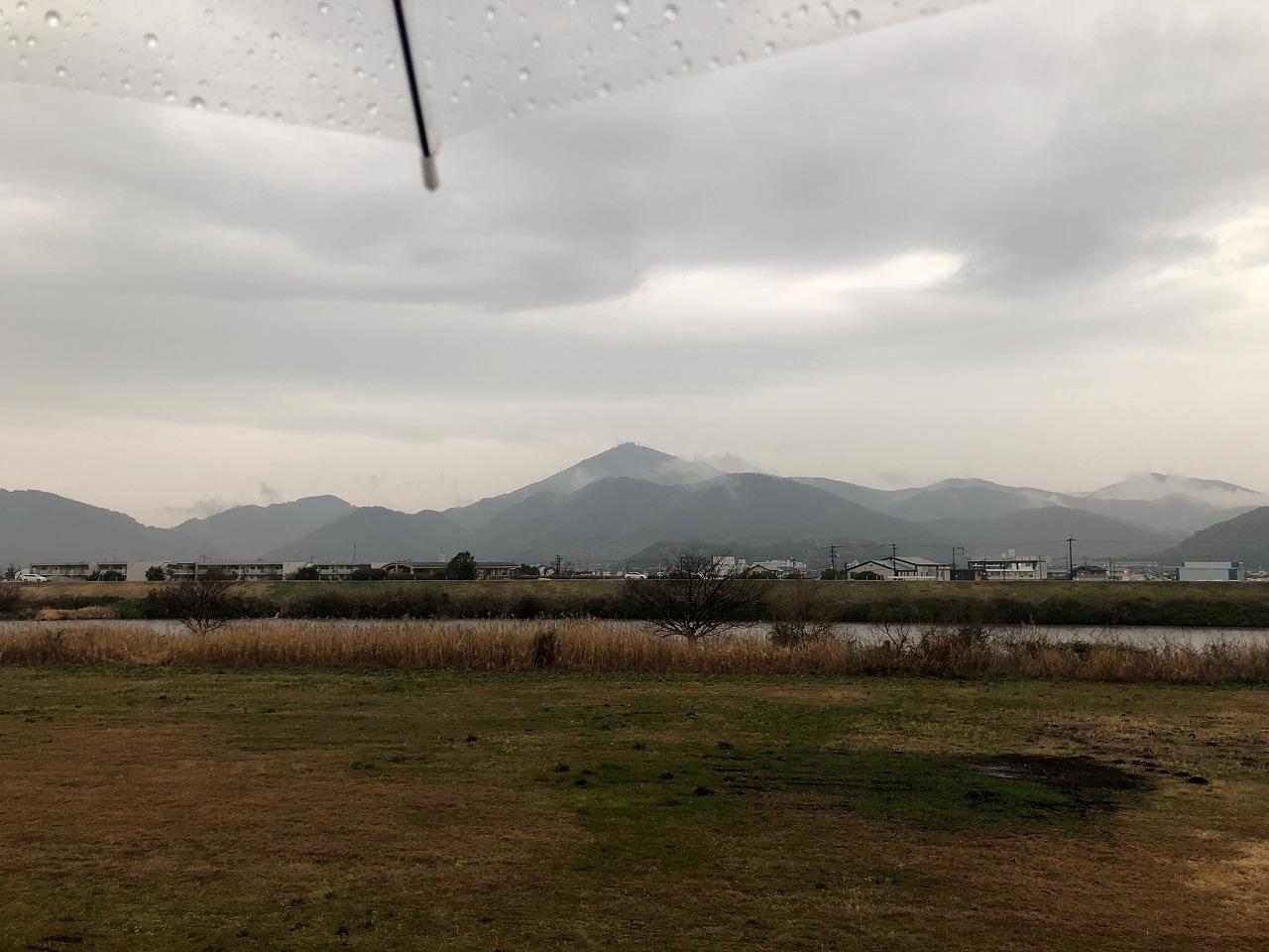 2020.2.14今朝の金峰山です。