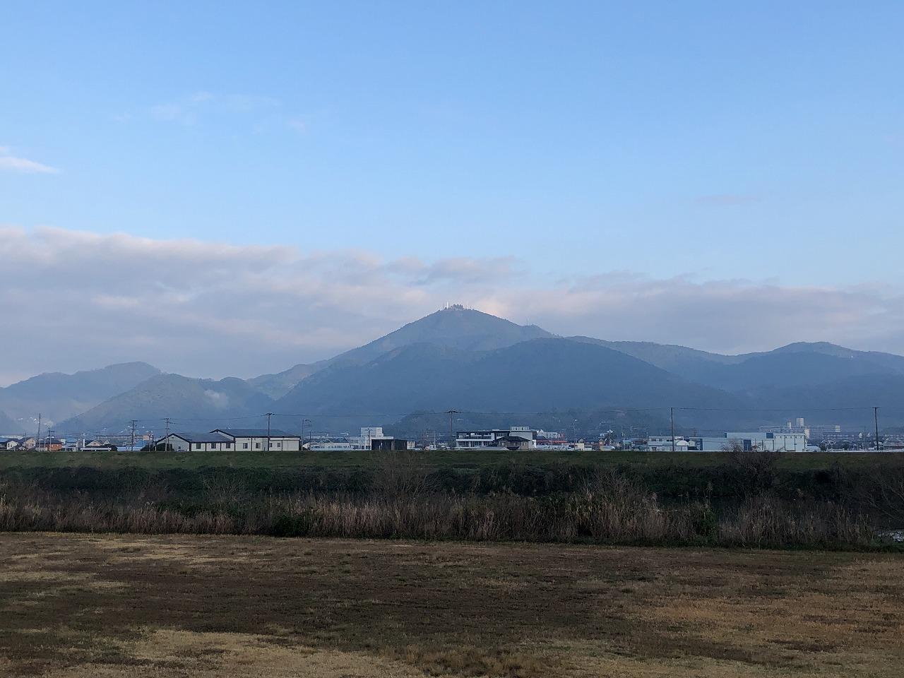 2020.0302今朝の金峰山です。