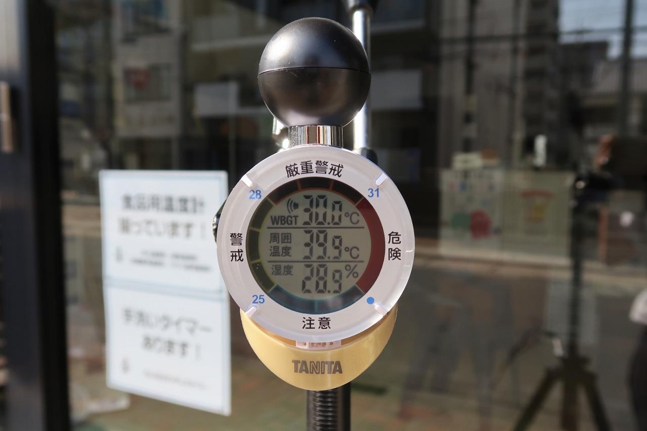 タニタ TT-562 黒球式熱中症指数計 熱中アラーム