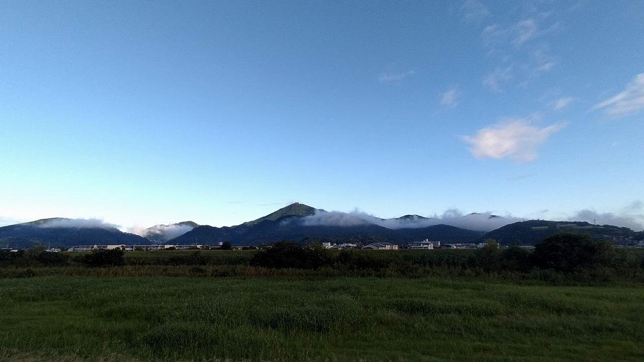 2020.9.25今朝の金峰山です。