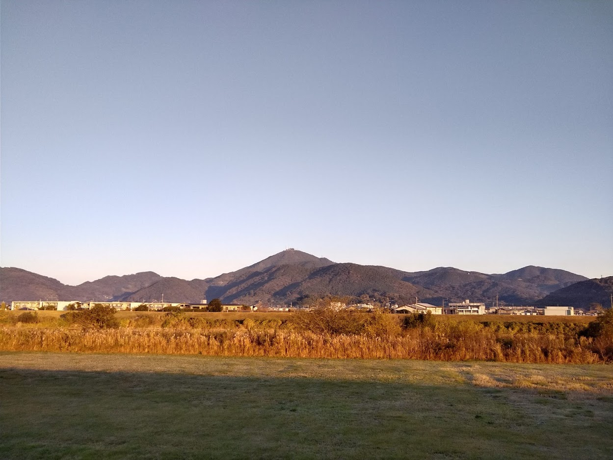 2020.12.1今朝の金峰山です!