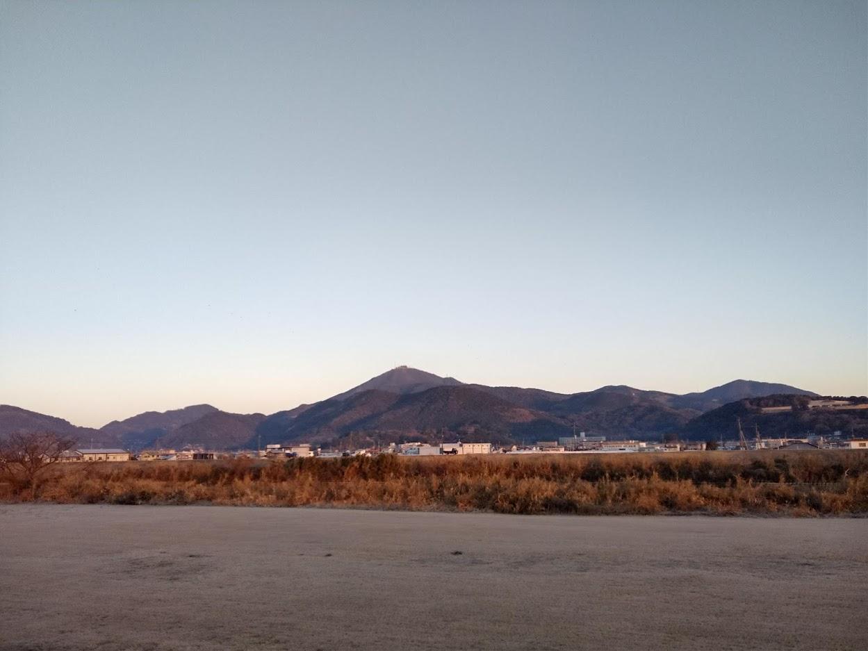 2021.1.20今朝の金峰山です。