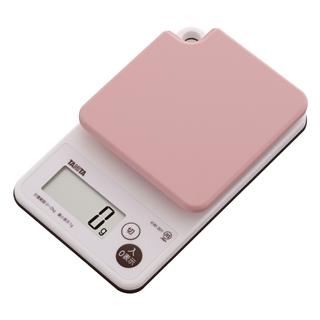 洗えるクッキングスケール KW-201 2kg ピンク