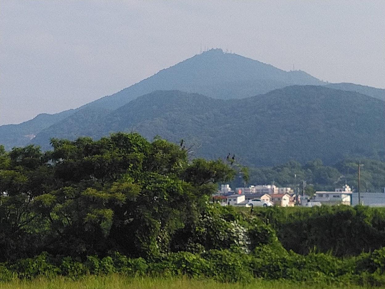 2021.6.30今朝の金峰山です。