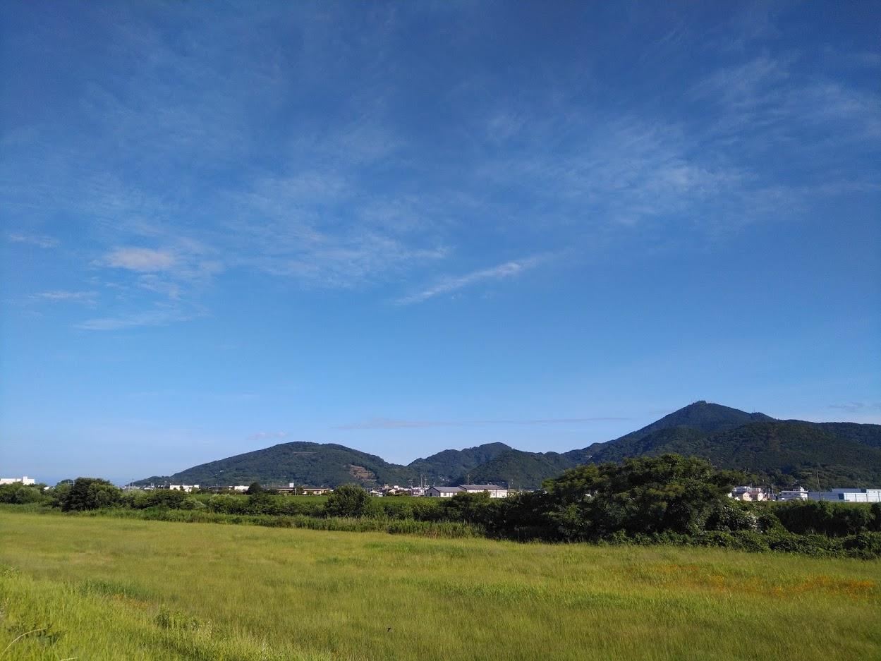2021.7.1今朝の金峰山です