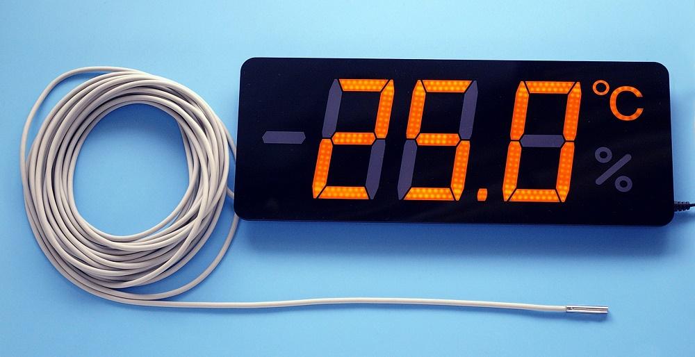 薄型温度表示器 メンブレンサーモ TP-300TB-10 コード10mタイプ